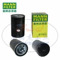 MANN-FILTER曼牌滤清器机油滤清器滤芯W719/5