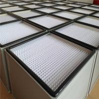 高效过滤器纸隔板镀锌框 H13纸隔板铝隔板高效过滤器