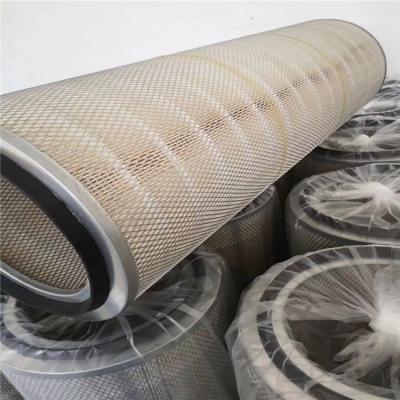 340×1000高炉鼓风机自洁式空气滤筒厂家325×1000