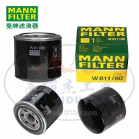 MANN-FILTER(曼牌滤清器)油滤W811/80