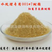 强酸阳离子交换树脂 软水树脂降低水质硬度 离子交换树脂厂家