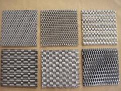 不锈钢网编织方法