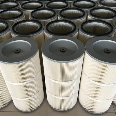 除尘滤芯-PU注胶聚氨酯盖替代布袋式除尘滤芯 -生产厂家