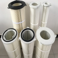 320*210*950三螺丝吊装除尘滤芯-生产厂家