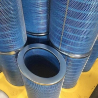 阻燃聚酯纤维除尘滤筒规格-325*215*660