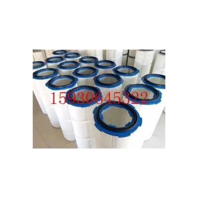 P034303三角形蓝色阻燃除尘滤筒-厂家
