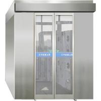 食品生产基地不锈钢风淋室 手动门自动门风淋设备