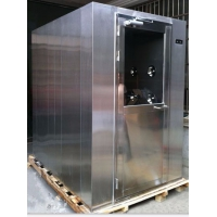 河南不锈钢单人风淋室价格   郑州净化板风淋厂家