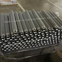 金属丝网波叶烧结毡折叠熔体滤芯