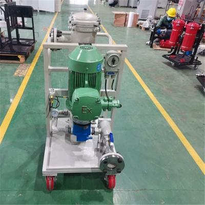 GLYC-100A高粘油滤油机 电厂、钢厂液压油过滤机