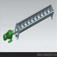 无轴螺旋输送机由无轴螺旋U型槽盖板进出料口和驱动装置组成