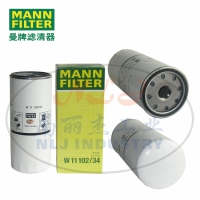 MANN-FILTER(曼牌滤清器)油滤W11102/34
