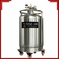 海伦自增压液氮罐天驰YDZ-100不锈钢杜瓦罐厂家