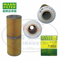 MANN-FILTER(曼牌滤清器)机油滤芯H12178