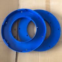六耳卡盘快拆式阻燃除尘滤筒 耐高温覆膜阻燃除尘滤芯 品质保证