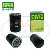 MANN-FILTER(曼牌滤清器)油滤W940/81